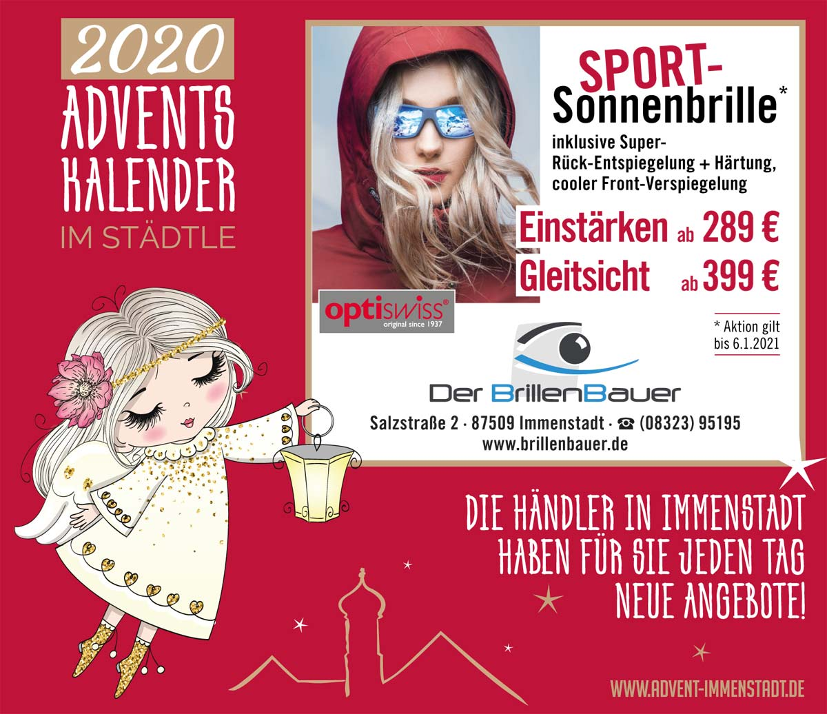 Adventskalender BrillenBauer am 07.12.2020