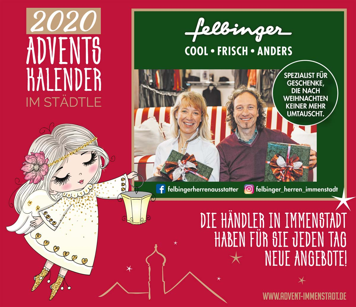 Adventskalender Felbinger am 12.12.2020