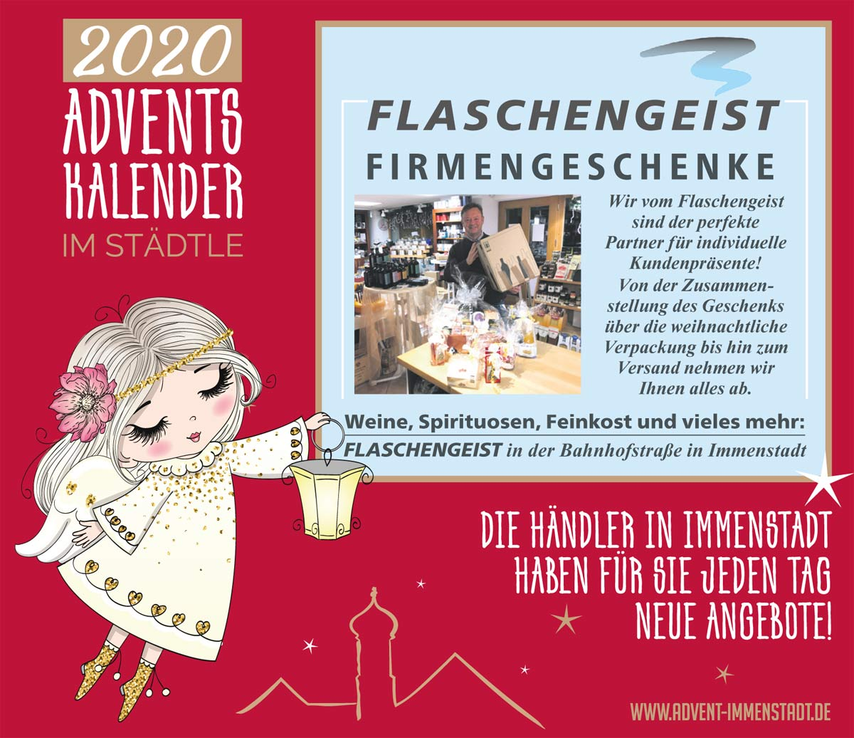 Adventskalender Flaschengeist am 04.12.2020
