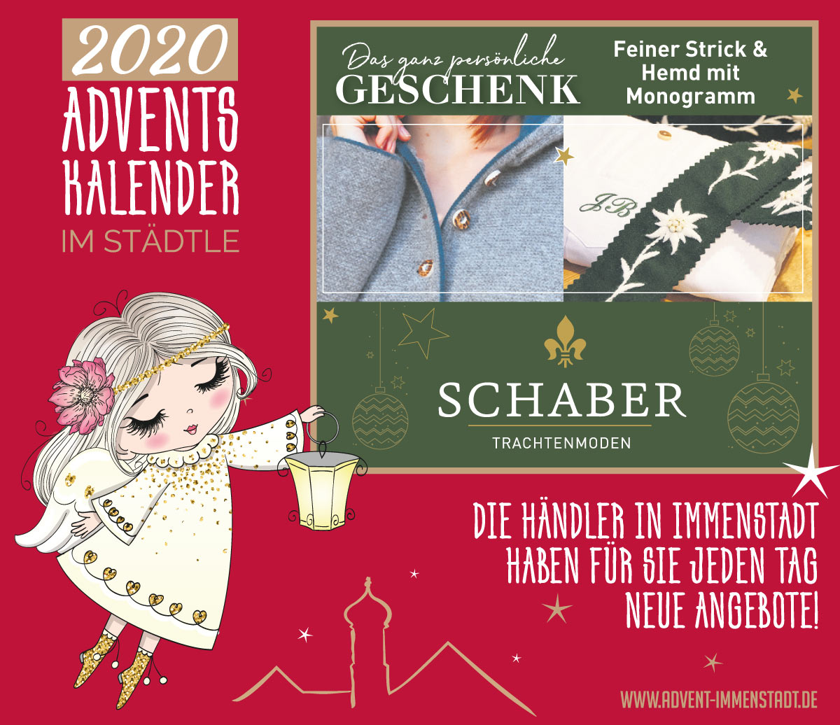 Adventskalender Schaber am 11.12.2020